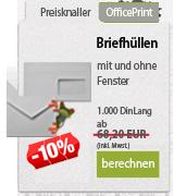 Online Druckportal. Briefhüllen