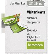 Online Druckerei Visitenkarten